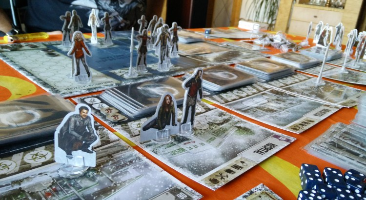 Primera partida a Dead of Winter