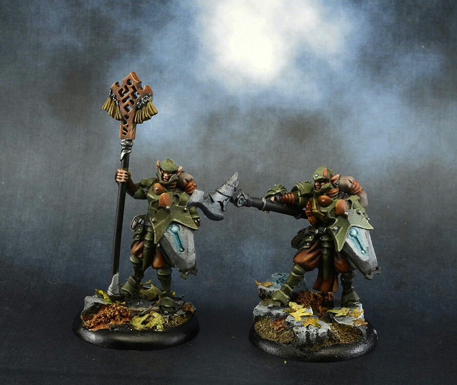 Houseguard Halberdiers Unit Attachment