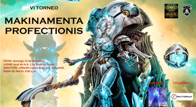Cartel VI torneo Makinamenta Profectionis