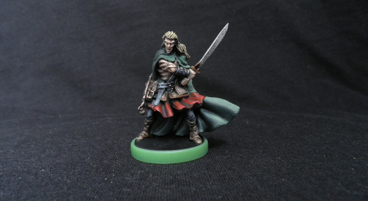 elfo zombicide black plague silas