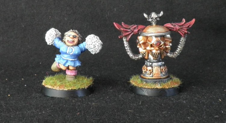 Cheerleader enana y copa del caos blood bowl