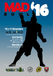 Cartel madbowl 2016