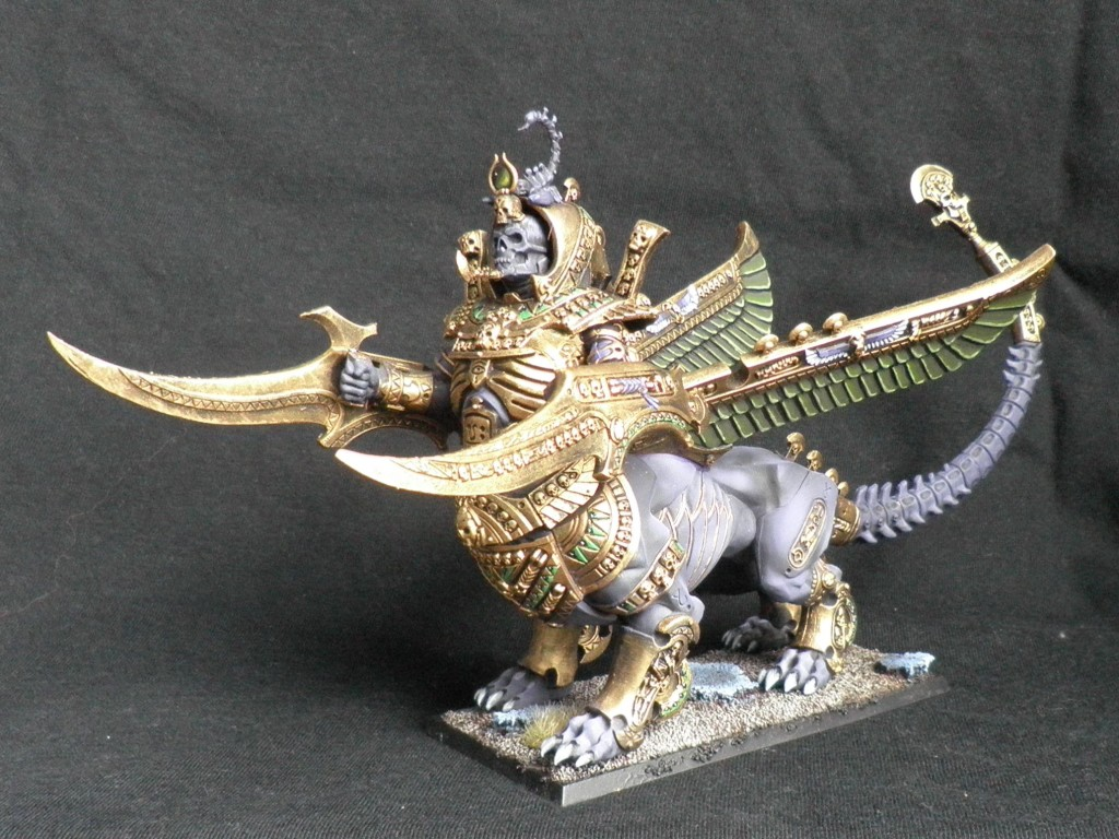 Tomb Kings Khemrian Necrosphinx