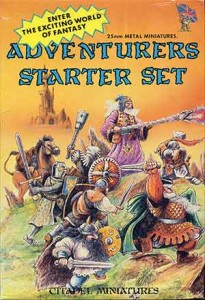 ADVENTURERS STARTER SET CITADEL BC1