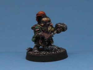 ADVENTURERS STARTER SET CITADEL BC1 STOUT DWARF WARRIOR