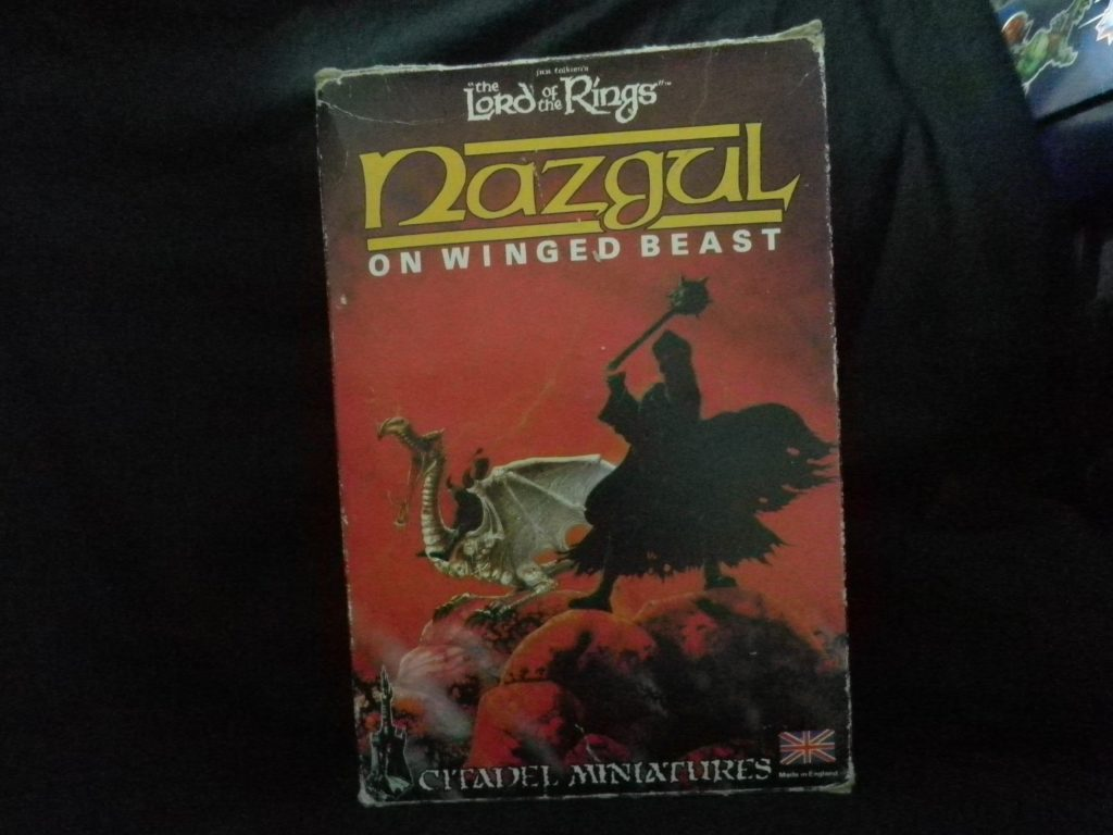 NAZGUL ON WINGED BEAST