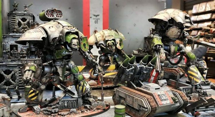 Armies on parade 2017 Imperial Knight