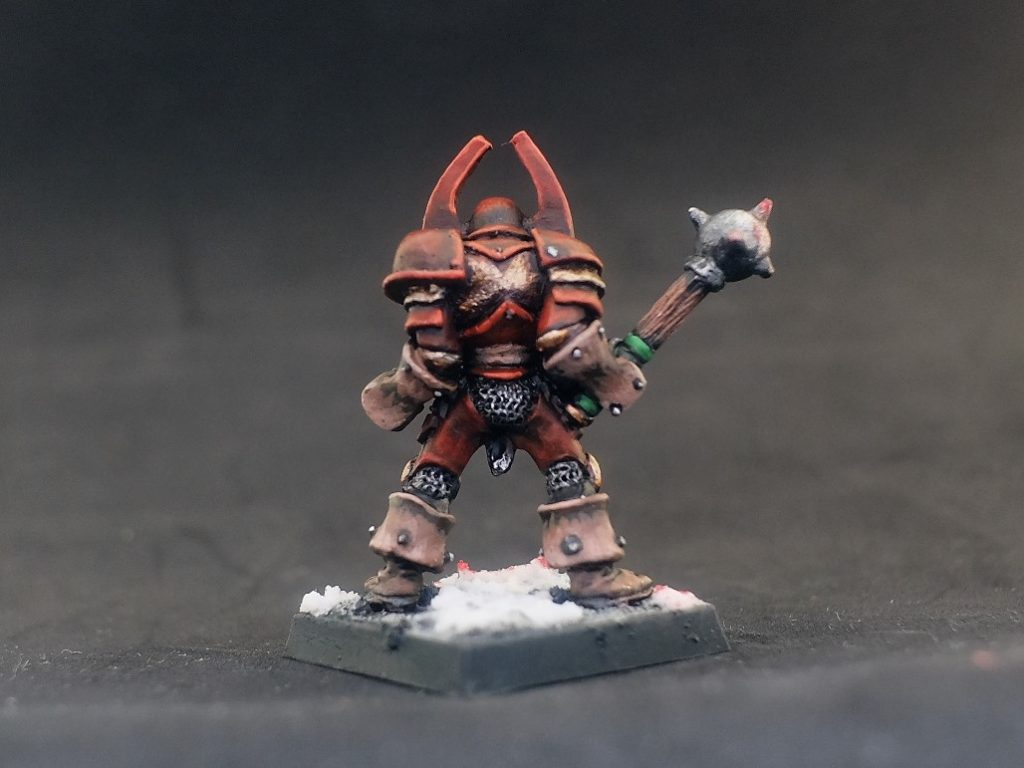 HEROQUEST CHAOS WARRIOR UNRELEASED