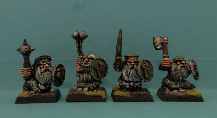 MARAUDER MM16 DWARF LONG BEARDS