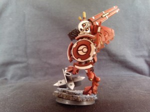 TAU BATTLESUIT COMMANDER SHAS'O R'ALAI WITH DRONES 5