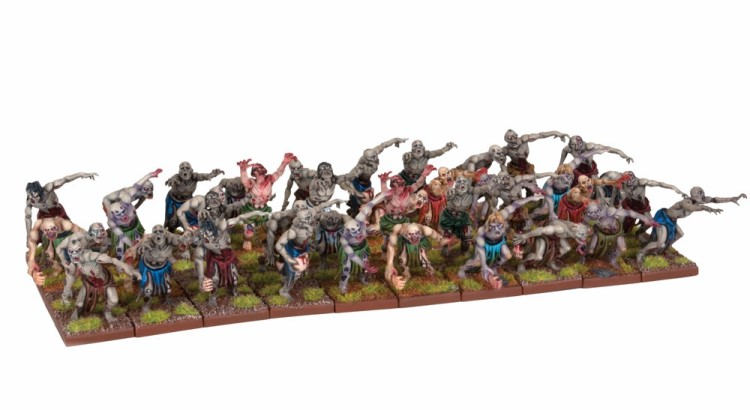 miniaturas zombies