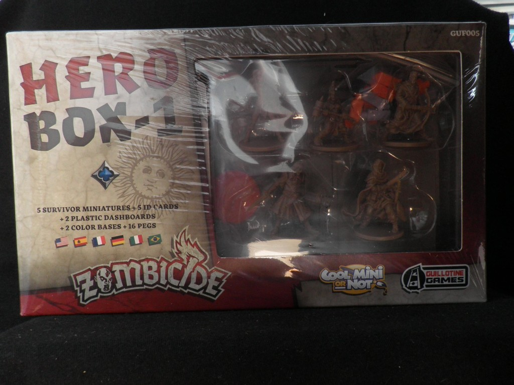 zombicide black plague unboxing 2
