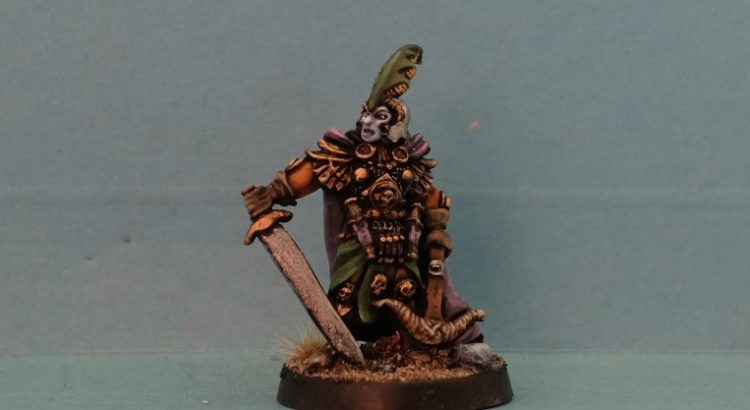 evil dark elf captain